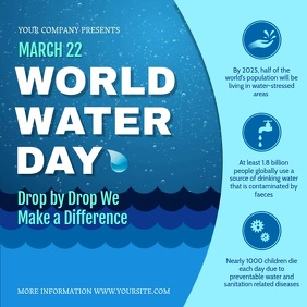 World Water Day Awareness Campaign Instagram