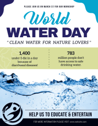 World Water Day Awareness Conference Flyer