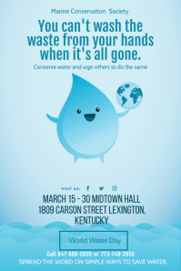 World Water Day Local Event Leaflet