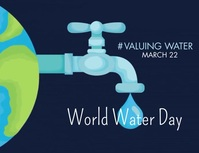 World Water Day Template Flyer (US Letter)