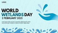 World Wetlands Day Template Encabezado de blog