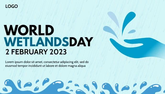 World Wetlands Day Template Header Blog