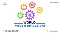 World Youth Skills Day Blog Header post Заголовок блога template