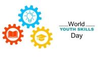World Youth Skills Day Blog header post template