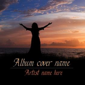 worship album cover template