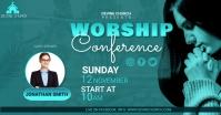 worship conference Iklan Facebook template