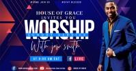 WORSHIP โฆษณา Facebook template