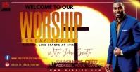 WORSHIP Рекламное объявление Facebook template