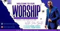 WORSHIP Reklama na Facebooka template