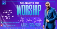 WORSHIP Facebook-annonce template