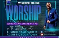 WORSHIP Tabloid template
