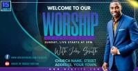 WORSHIP Facebook 广告 template