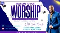 WORSHIP Twitter Post template