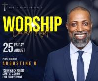 Worship Средний прямоугольник template
