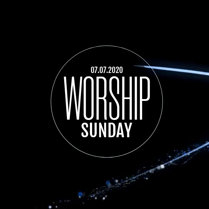 WORSHIP EVENT TEMPLATE
