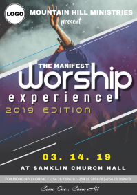 Worship Experience Poster