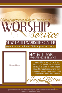 Church Flyer Templates PosterMyWall - Free church flyer templates microsoft word