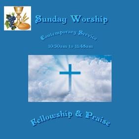 Worship Service Template
