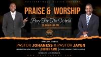 worship sunday flyer template