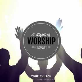 Worship Video Ad Template