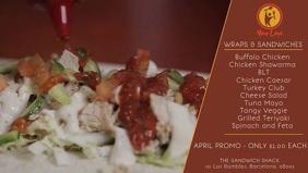 Wraps & Sandwiches Promotion Video
