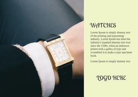 Wrist Watch Ad