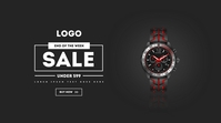 Wrist Watch facebook Ad Digitale Vertoning (16:9) template