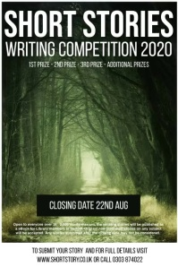 Writing competition poster template Affiche