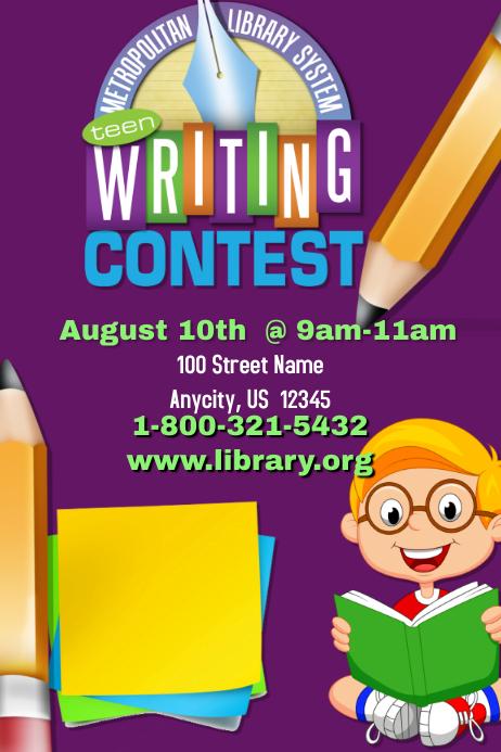 Creative writing essay contest
