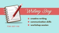 Writing Day Blogkop template