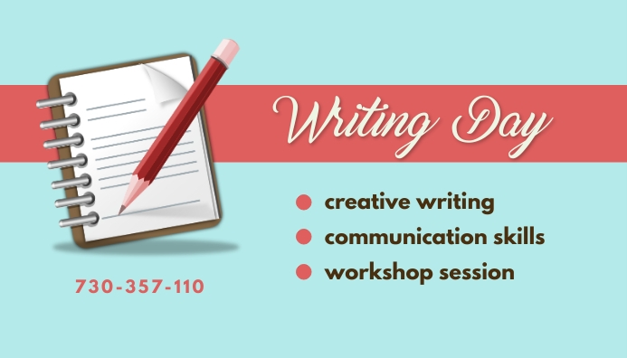 Writing Day template