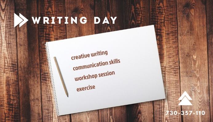 Writing Day Header Blog template