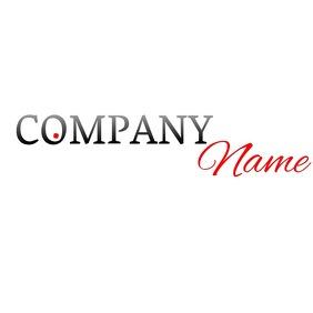 written logo