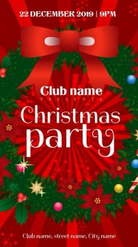 Xmas party invite