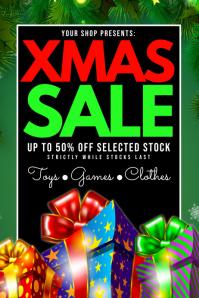 Xmas Sale Poster