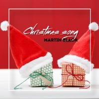 Xmas song Album Cover template