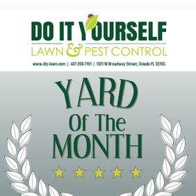 yard of the month sign template