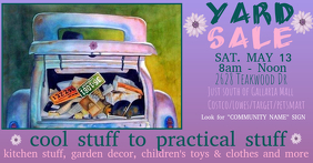 Yard Sale, Rummage Sale, Arts & Craft Sale, Community Sale