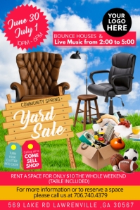 customize 500 garage sale flyer templates postermywall