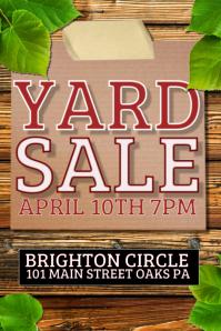 garage sale template yard sale 1 2
