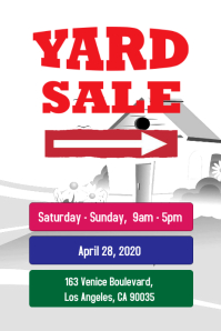 Yard Sale Poster