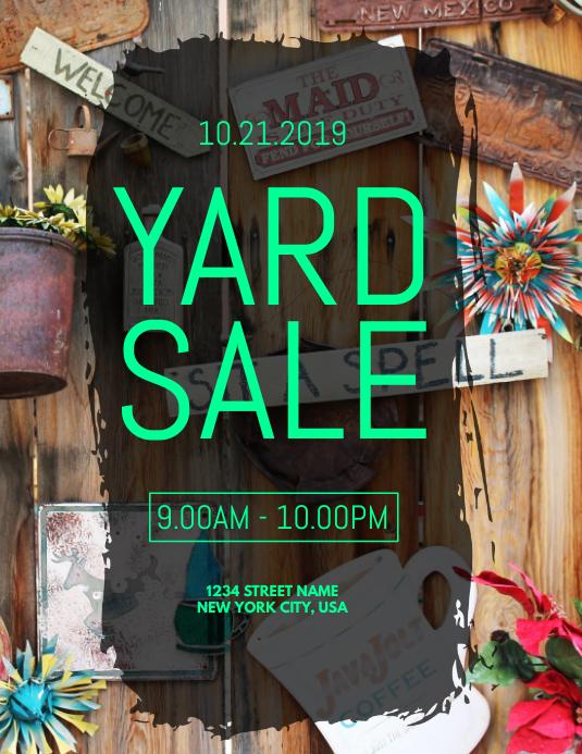 copy of yard sale flyer
