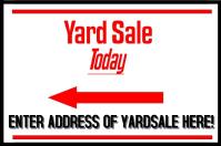 Yard Sale signage