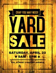 Yard Sale Retail Poster Flyer