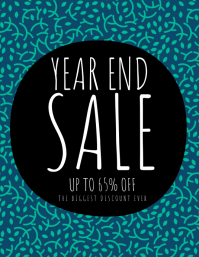 Year End Sale Flyer