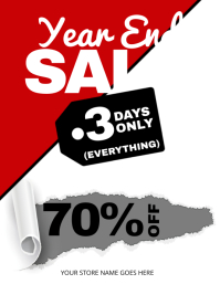 9 480 customizable design templates for year end sale postermywall