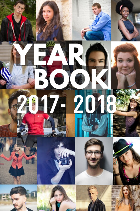 Yearbook Page Template Postermywall