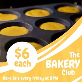 Yellow Bakery Business Sale Instagram Video