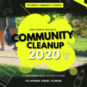 Yellow Community Park Cleanup Video