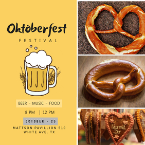 Yellow Oktoberfest Instagram Template